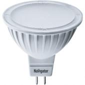 Лампа светодиодная - Navigator NLL-MR16 5W 230V 6500K GU5.3 94382