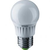 Лампа светодиодная шар 94477 NLL-P-G45-5-230-2.7K-E27 Navigator