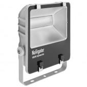 Прожектор светодиодный пылевлагозащищенный - Navigator NFL-SM-100-5K-GR-IP65-LED 7200lm 40000h cерый - 94749
