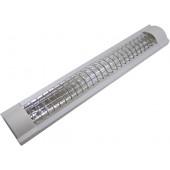 Светильник люминесцентный с рассеивающей решеткой, 2х20W
