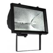Прожектор под галогенную лампу, 1000Вт, черный