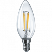 Лампа светодиодная свеча NLL-F-C35-4-230-2.7K-E14 Navigator - 71307
