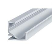 Профиль для светодиодной ленты ЛПУ-17 угловой 2м