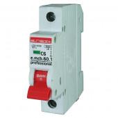 Автоматический выключатель e.mcb.pro 1р, 10А, В, 6кА, new E.NEXT