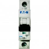 Автоматический выключатель PL4-C25/1, 4.5kA, 1p, 25A MOELLER-EATON
