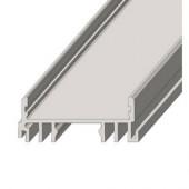 Профиль для светодиодной ленты ЛСС скрытого монтажа 2м