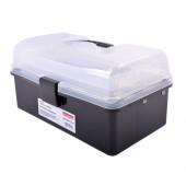 Ящик для инструментов, e.toolbox.13 BLACK, 225х130х115мм t010013 E.NEXT