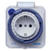 Розеточный таймер електромеханический суточный Theben-timer 26 IP 44 Theben (Германия)
