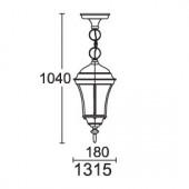 Светильник парковый 1315 DALLAS I Lusterlicht
