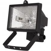 Прожектор під галогенну лампу, 150Вт, чорний
