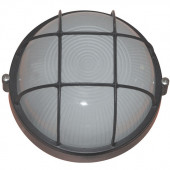 Світильник вологозахищений 1303, 60W, чорний